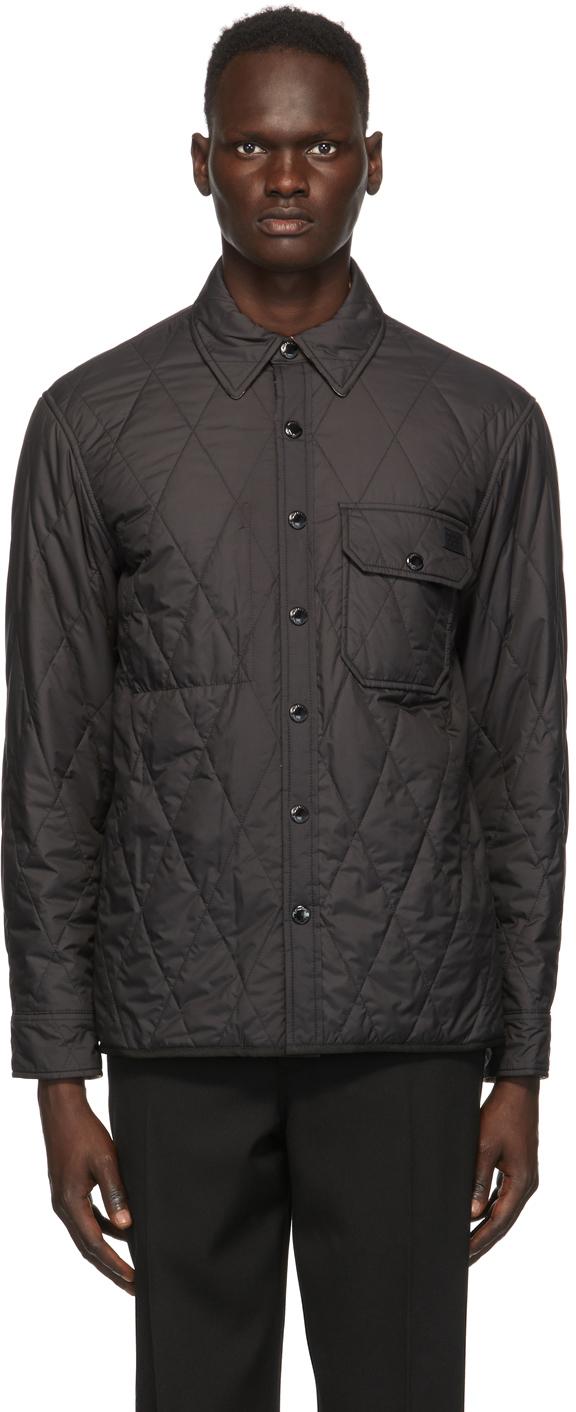 Burberry Reversible Black Cresswell Jacket
