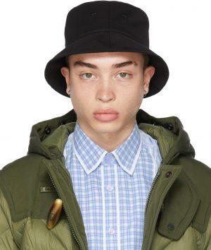 Burberry Reversible Black Logo Bucket Hat