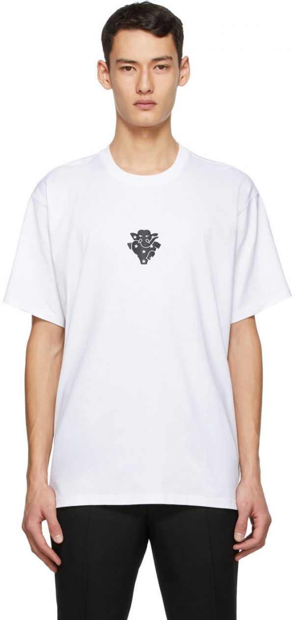 Burberry White Elephant T-Shirt