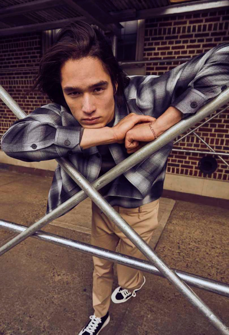 Pedro, Peter & Raphael Don Urban Style in DKNY Fall '21 Collection