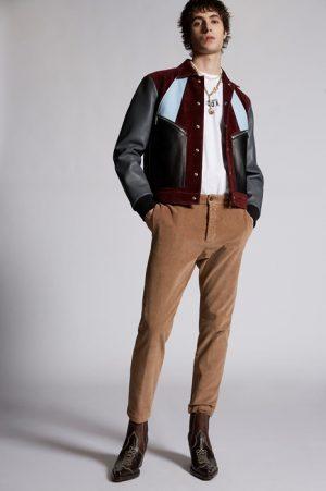 DSQUARED2 Men Pants Camel Size 38 97% Cotton 3% Elastane