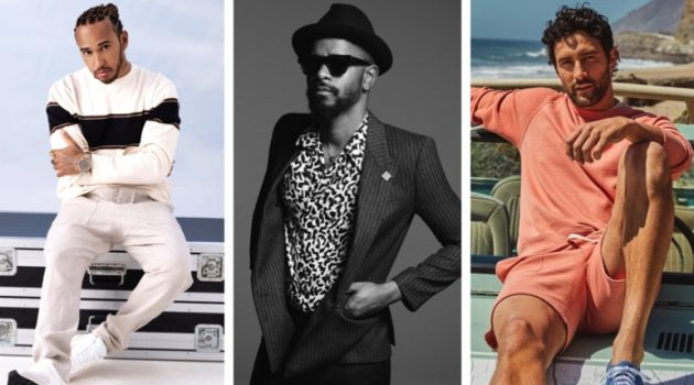 Week in Review: Lewis Hamilton for IWC, Lakeith Stanfield for Saint Laurent, Noah Mills for Todd Snyder