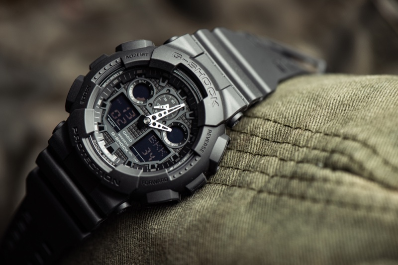 G-Shock GA-100-1A1 Watch