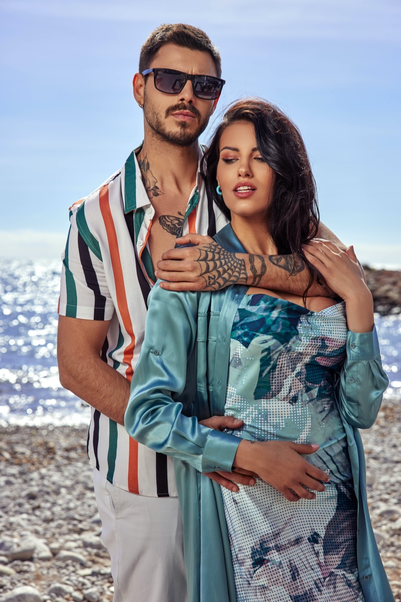 Francesco Monte Takes to Spain for GUESS Summer Campaign