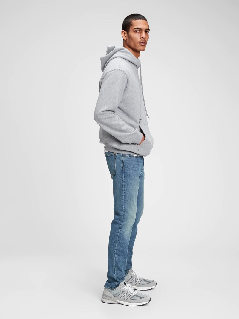 Gap Mens Everyday Slim Jeans with GapFlex