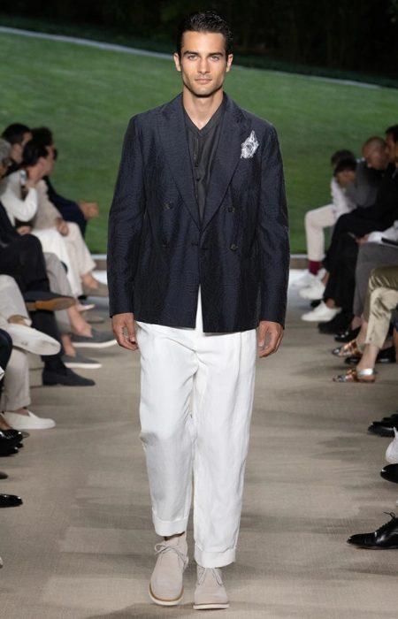 Giorgio Armani Returns to Its Roots