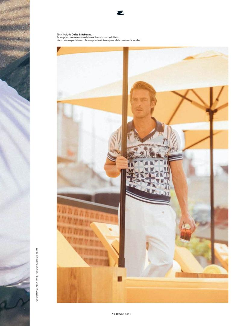 Jason Morgan Takes a Summer Holiday with Esquire México