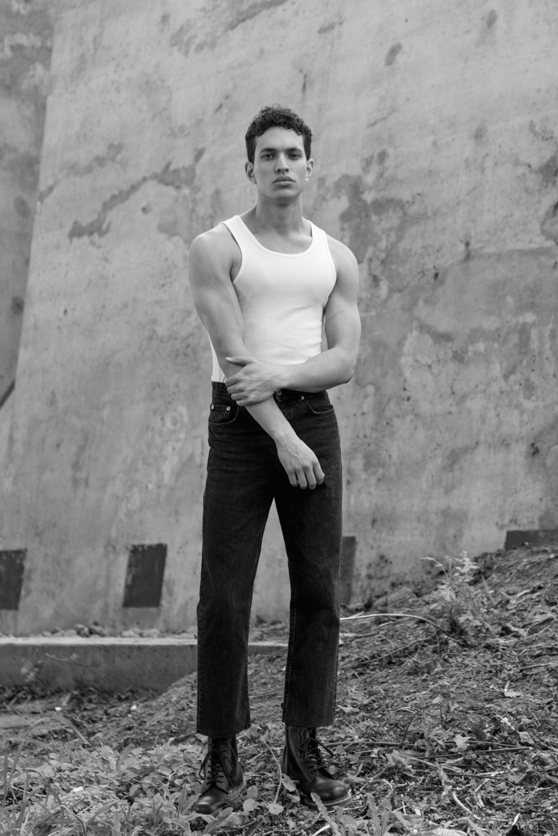 Jordan Alexander photographed by Anthony James Giura