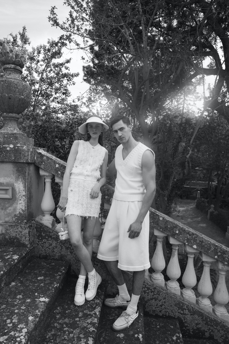 Alessio & Umberto Don Summer Whites for L'Officiel Italia