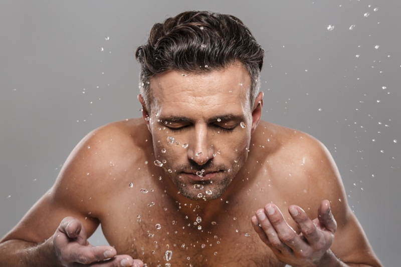 Man Face Care Water Skincare