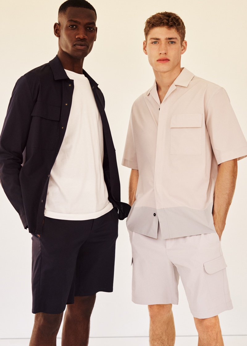 Valentin & Bambi Go 'Clean' in New Mango Collection