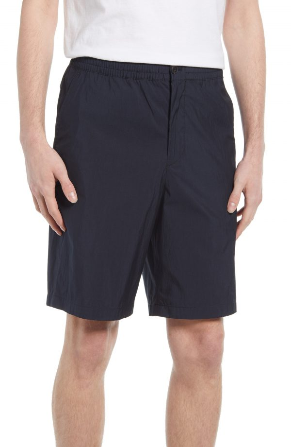 Men's Club Monaco Casual Shorts, Size X-Large - Black