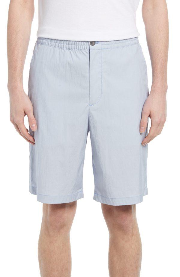 Men's Club Monaco Casual Shorts, Size X-Small - Blue