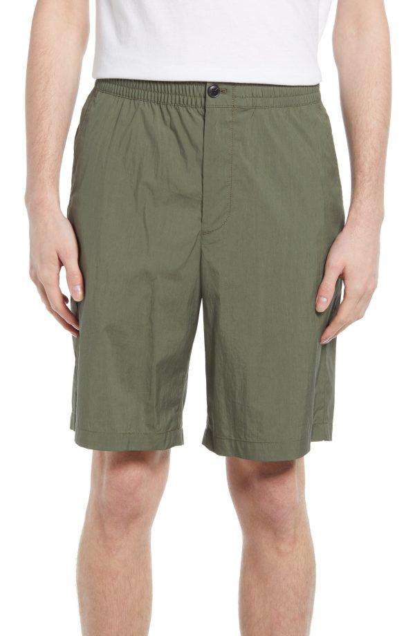 Men's Club Monaco Casual Shorts, Size X-Small - Green