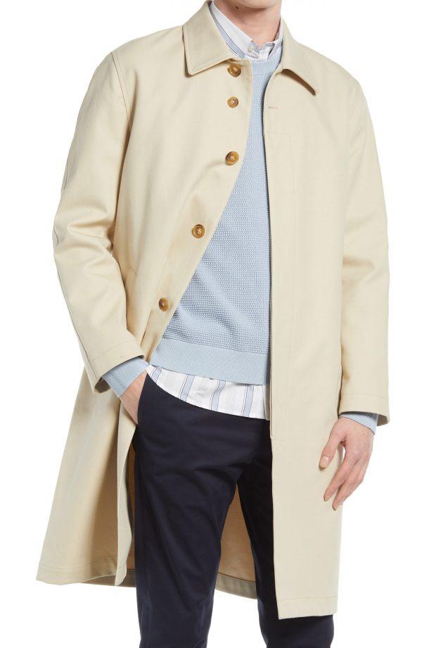 Men's Club Monaco MAC Jacket, Size X-Small - Beige