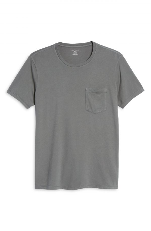 Men's Club Monaco Men's Williams Pocket T-Shirt, Size Small - Grey