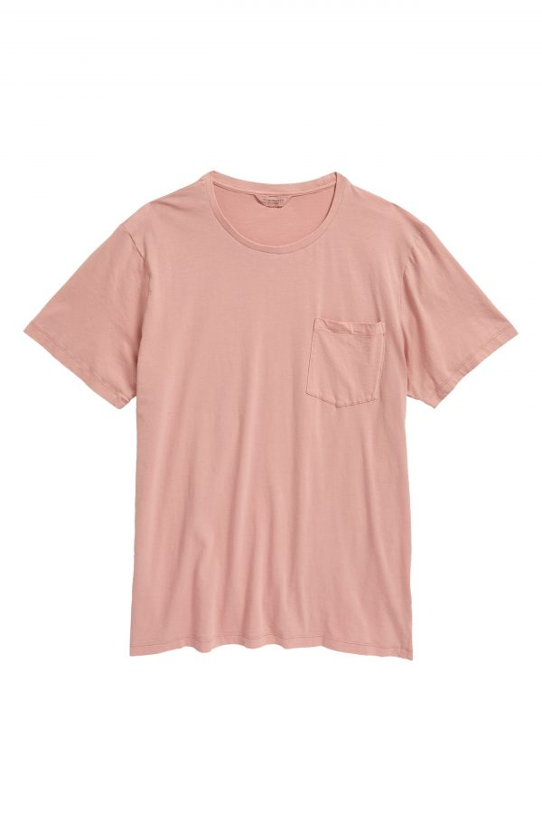 Men's Club Monaco Men's Williams Pocket T-Shirt, Size X-Large - Red