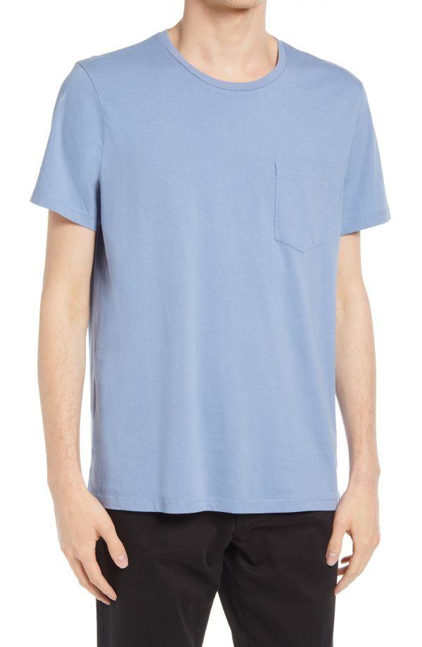 Men's Club Monaco Men's Williams T-Shirt, Size Small - Blue
