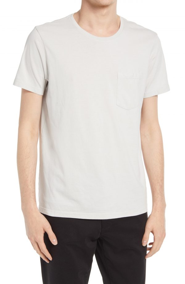 Men's Club Monaco Men's Williams T-Shirt, Size Small - Grey