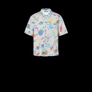 Moschino Planets Poplin Shirt