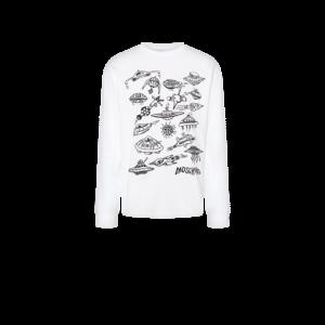 Moschino Spaceship Jersey T-shirt