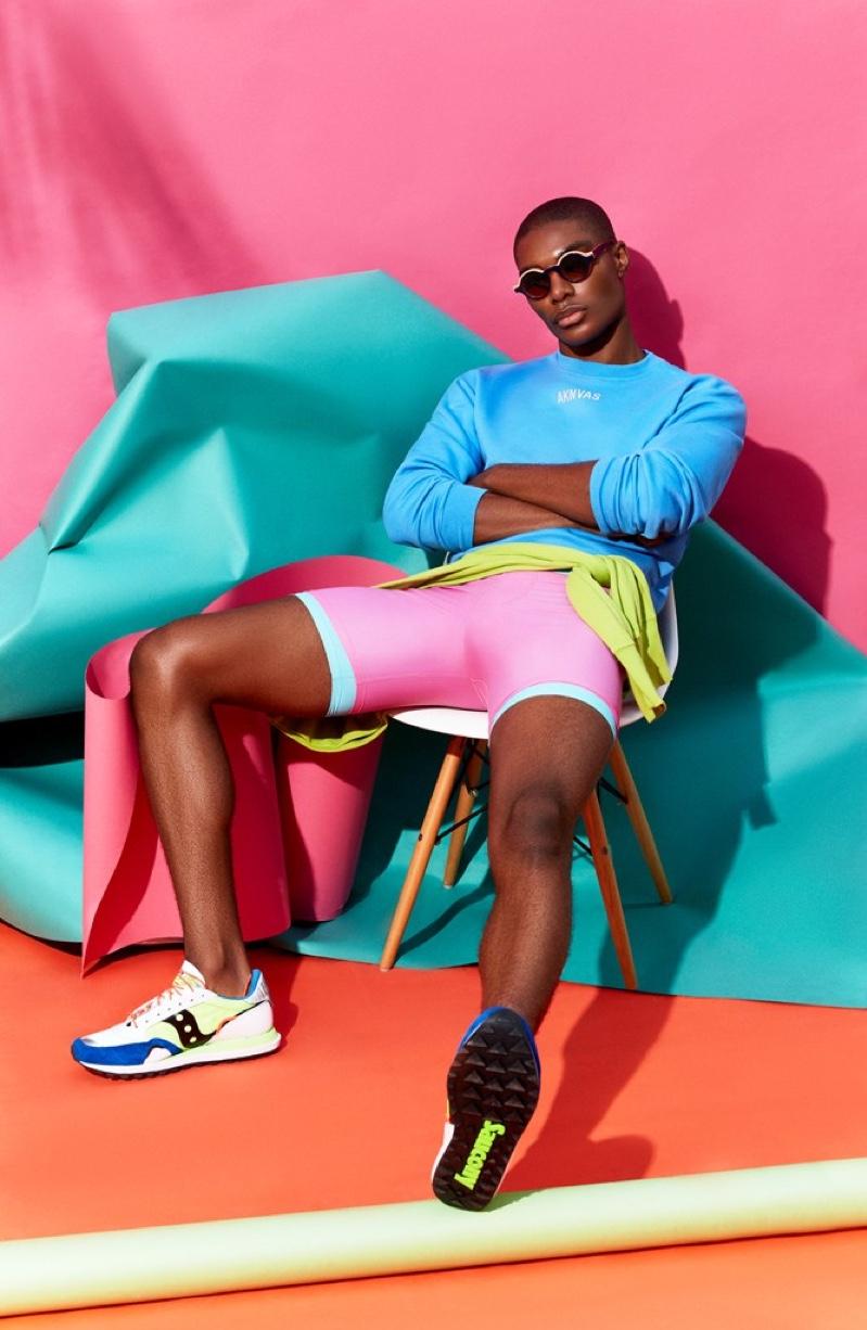 Niyo Malik Rocks Bold Colors for The Perfect Man