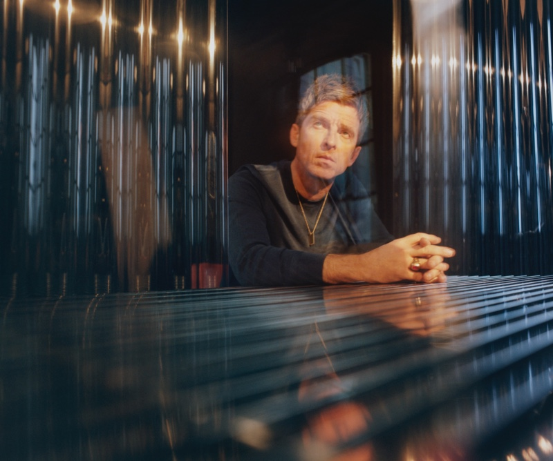 Starring a Mr Porter feature for The Journal, Noel Gallagher wears a Tom Ford slim-fit cotton-blend piqué sweater.