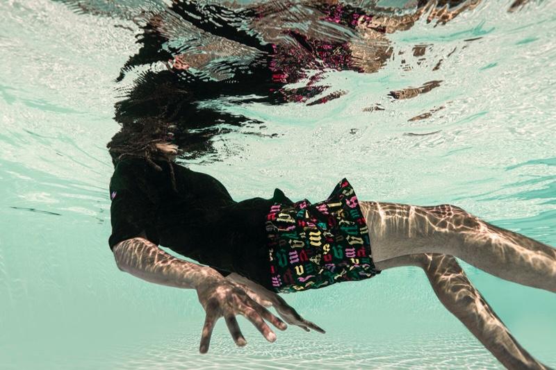 Palm Angels x Vilebrequin Monogram Swim Shorts