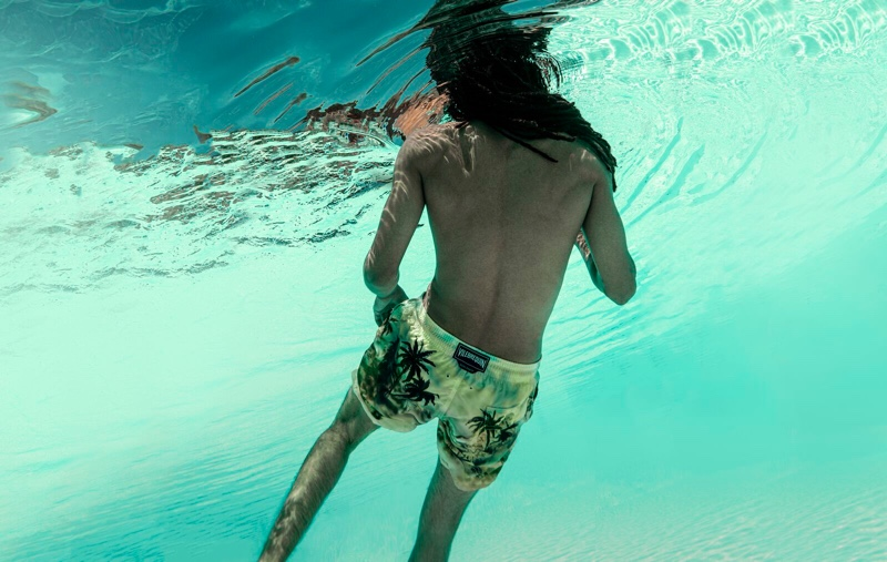 Palm Angels x Vilebrequin Palm Tree Swim Shorts
