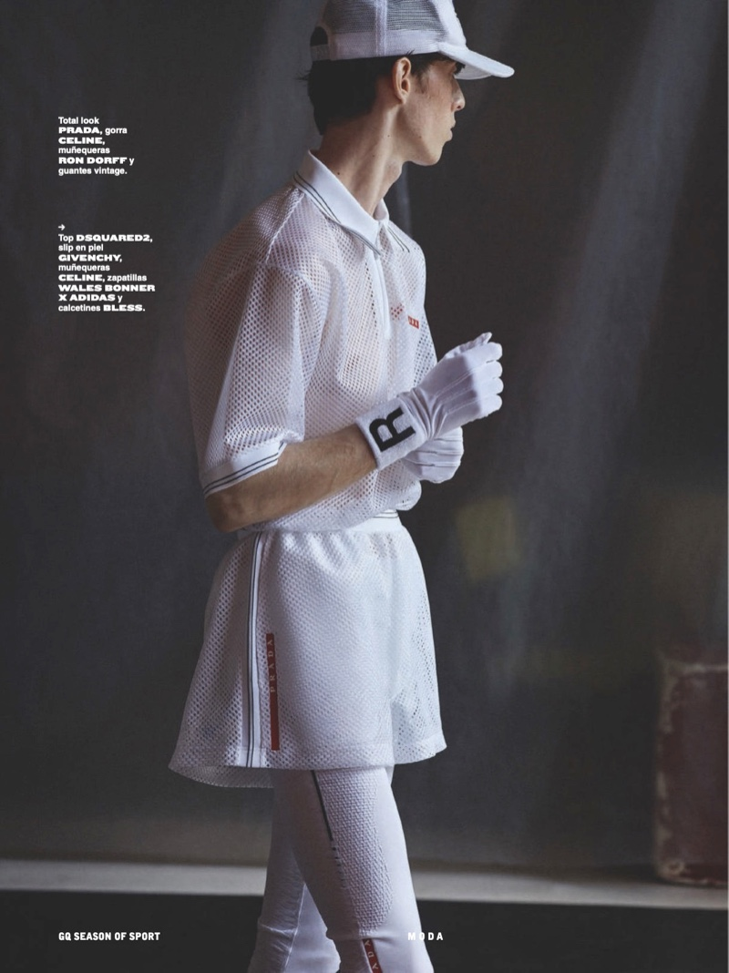 Rodrigue Durard Stars in Sports Story for Spanish GQ
