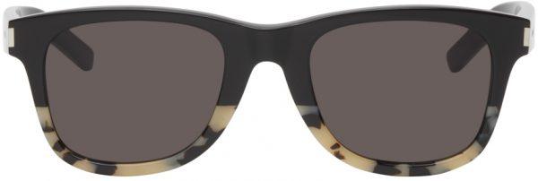 Saint Laurent Black Classic SL 51 Square Sunglasses