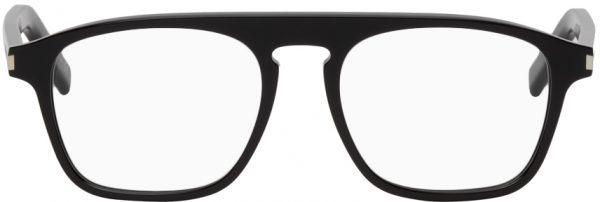 Saint Laurent Black SL 157 Square Glasses