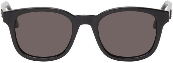 Saint Laurent Black SL 406 Square Sunglasses