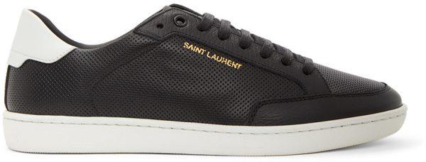 Saint Laurent Black & White SL10 Sneakers
