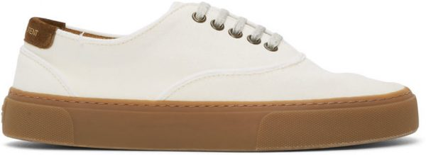 Saint Laurent Off-White Venice Sneakers
