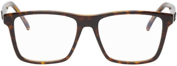 Saint Laurent Tortoiseshell SL 337 Square Glasses