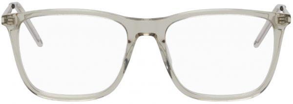 Saint Laurent Transparent SL 345 Square Glasses