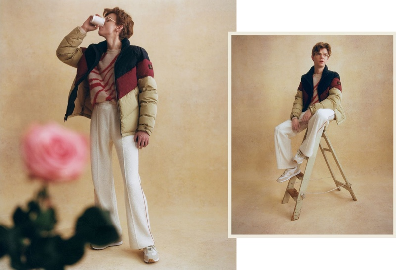 Thomas Brodie-Sangster Stars in Mr Porter Shoot, Talks Acting & Fashion
