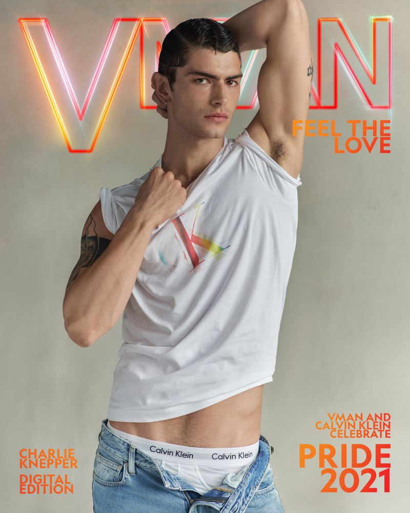 Charlie Knepper covers the VMAN's Pride 2021 issue.