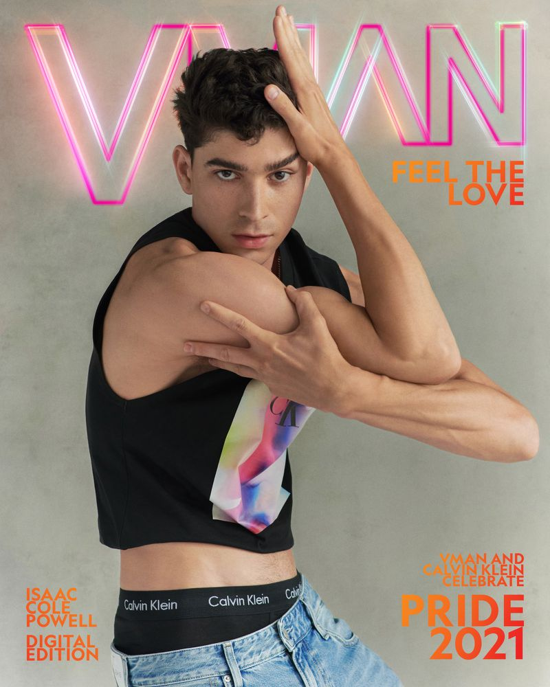 Isaac Cole Powell covers the VMAN's Pride 2021 issue.