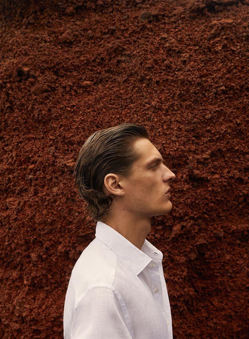 Valentin Caron Takes the 'Red Road' for Massimo Dutti