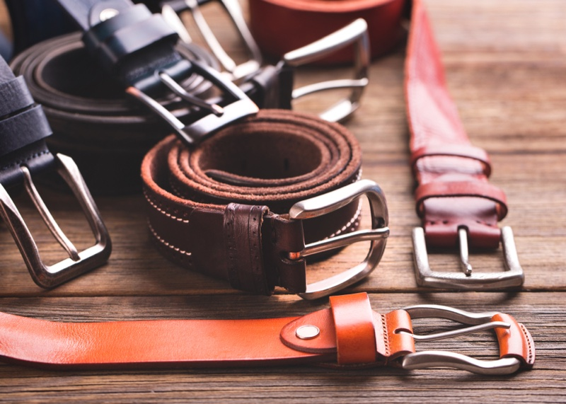 Variety Belts Table Leather