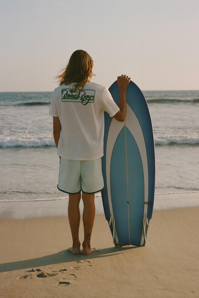 Lucas Ucedo is a Beach Boy for Zara