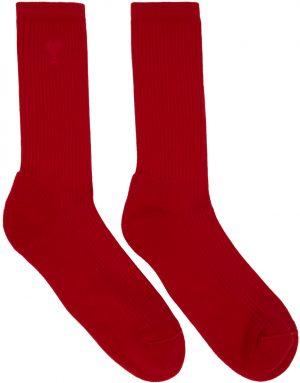 AMI Alexandre Mattiussi Three-Pack Multicolor Ami De Coeur Socks