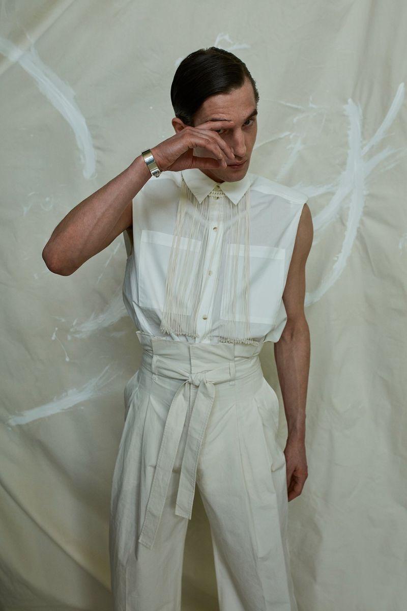Anatol Modzelewski is 'La Beaute' for Desire Homme