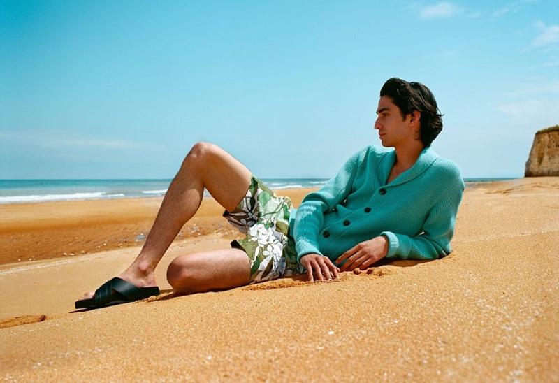 Aramish Mangi Soaks in the Sun with Matches Fashion