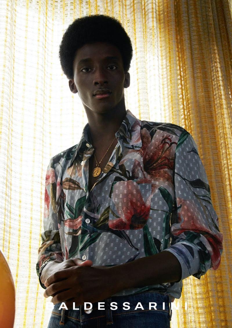 Xavier & Amadou Embrace Retro Charm for Baldessarini Spring '22 Campaign