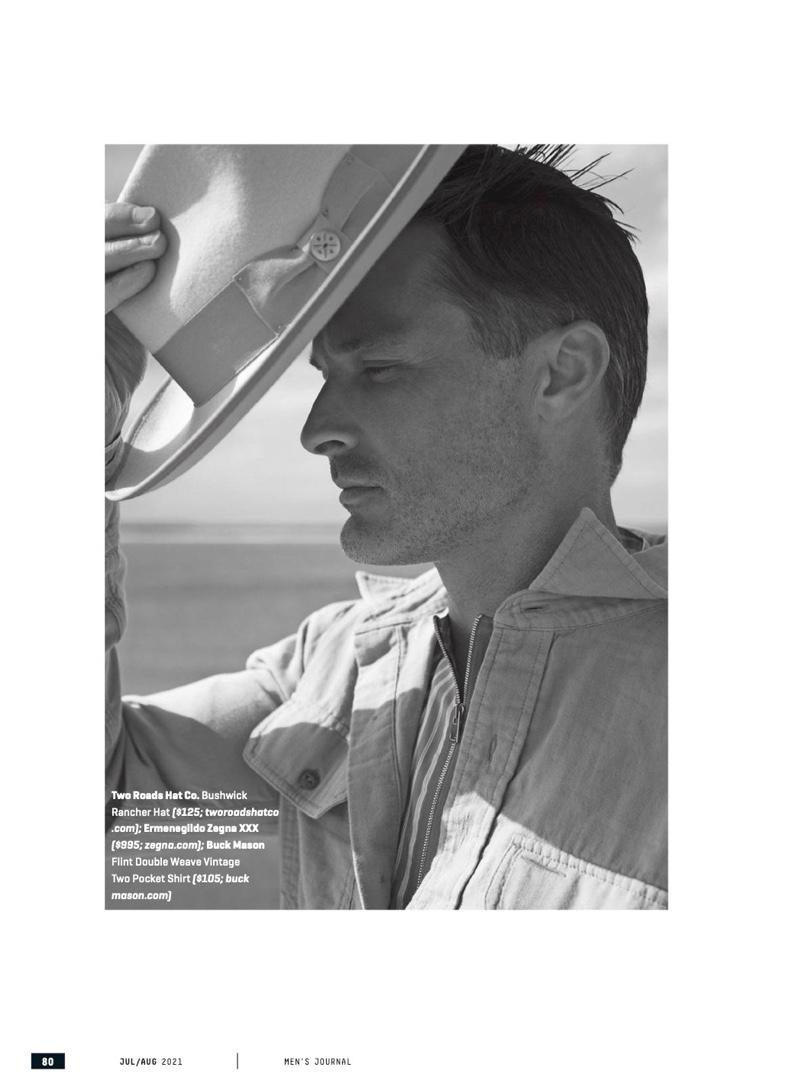Ben Hill Enjoys 'Summer Breezes' with Men's Journal