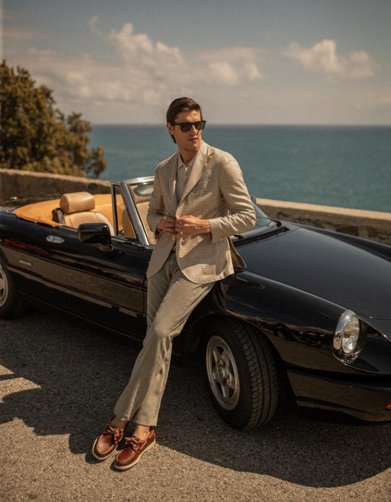 Gordon & Marco Take to Villa Araba for Boglioli Summer Campaign
