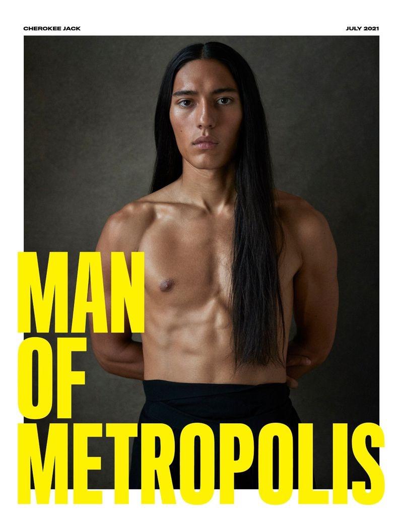 Cherokee Jack Stuns in Man of Metropolis